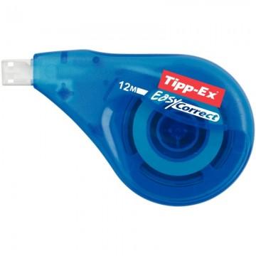 Trousse plate 1 compartiment 21cm bleue