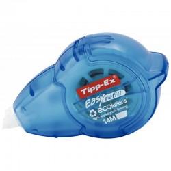 Trousse plate 1 compartiment 22cm bleu