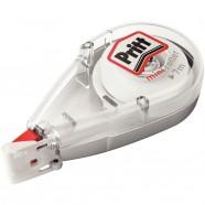 Trousse ronde 1 compartiment Fancy Bayadère 22cm bleu