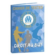 Cahier de textes 15x21cm Olympique de Marseille