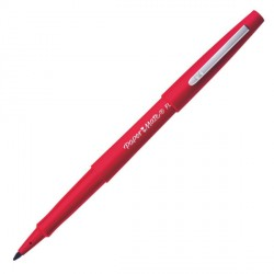 Stylo feutre rouge Nylon Flair Papermate