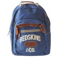 Sac à dos Redskins bleu 1 compartiment 43 cm