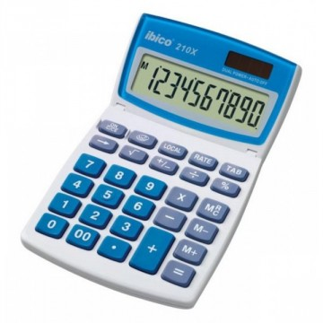 Calculatrice de bureau 10 chiffres Ibico 210X