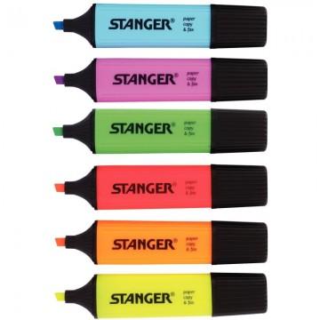 Trousse rectangulaire 2 compartiments 22cm violet