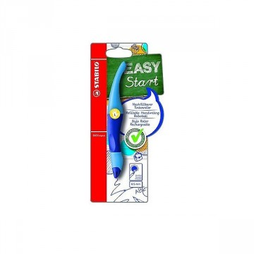 Stylo roller Easy original bleu pour gaucher