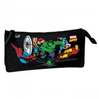 Trousse rectangulaire 1 compartiment Marvel Comics 23cm