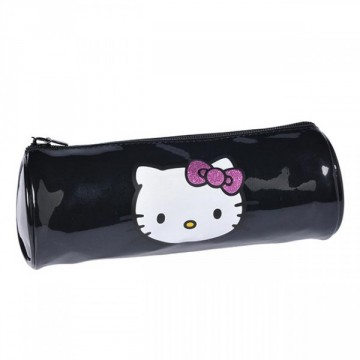 Trousse ronde 1 compartiment 22cm Hello Kitty