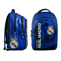 Sac à dos 2 compartiments Real de Madrid 45 cm