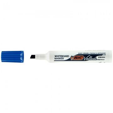 Stylo feutre lettering pen bleu pointe large Pilot