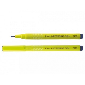 Stylo feutre lettering pen bleu pointe moyenne Pilot