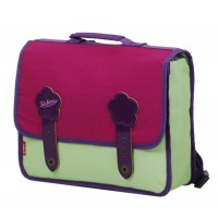 Cartable Kickers Pre-Kids 1 compartiment 27 cm anis violet