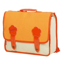 Cartable Kickers Pre-Kids 1 compartiment 27 cm beige orange