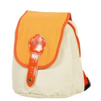 Sac à dos Kickers XS 25 cm 1 compartiment beige orange