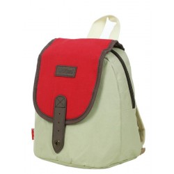 Sac à dos Kickers XS 25 cm 1 compartiment beige rouge