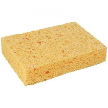 Trousse ronde Kickers bleu beige 22 cm