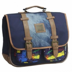 Cartable Kickers Kids Premium 38cm paint