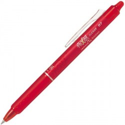 Stylo roller Frixion Clicker rouge PILOT