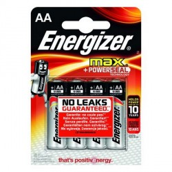 Blister 4 piles LR6 AA ENERGIZER