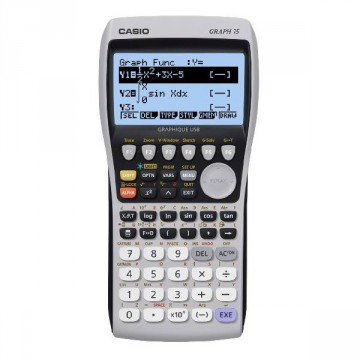 Calculatrice graphique Graph 75 CASIO sans mode examen