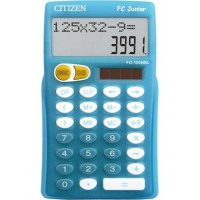 CALCULATRICE ECOLE PRIMAIRE FC JUNIOR BLEU CITIZEN