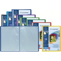 Protège-documents personnalisable 60 vues 24x32 cm polypro Kreacover