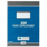 Copies doubles A4 200P seyes 70G HAMELIN