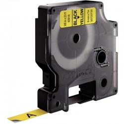 Cahier polypro 24x32 cm 96 pages piqure seyès jaune
