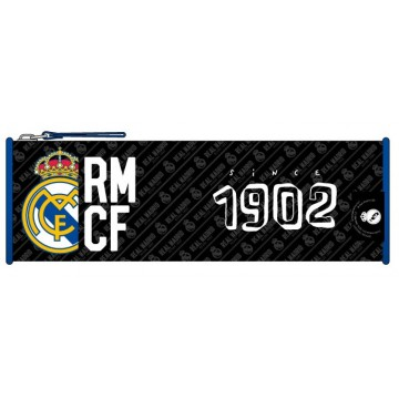 Trousse ronde 1 compartiment Real de Madrid 23cm