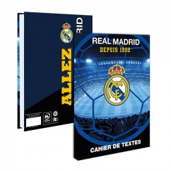 Cahier de textes Real de Madrid 15x21cm