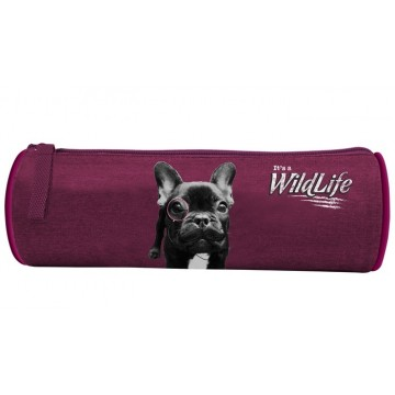 Trousse ronde Wildlife Dog 1 compartiment 22cm