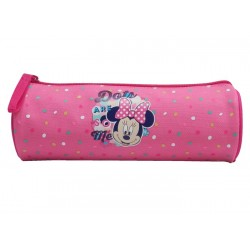Trousse ronde Minnie 1 compartiment 22 cm