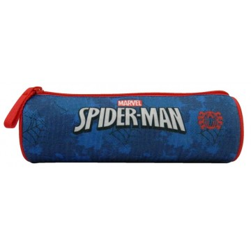 Trousse ronde Spiderman 1 compartiment 22 cm