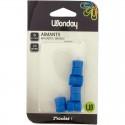 Feuillets mobiles 17X22 cm 200 pages seyès 4 couleurs CLAIREFONTAINE