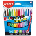 Etui de 12 feutres 1,2 mm Color'peps MAPED