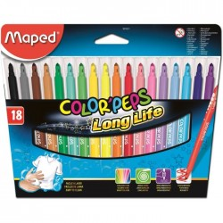 Etui de 18 feutres 1,2 mm Color'peps MAPED