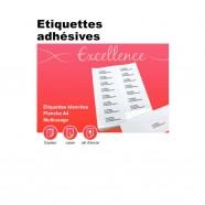 Protège-documents rouge 20 vues 10 pochettes 24X32 cm polypro