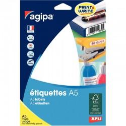 Protège-documents noir 60 vues 30 pochettes 24X32 cm polypro