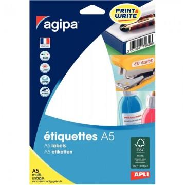 Protège-documents bleu 80 vues 40 pochettes 24X32 cm polypro