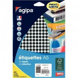 Cahier piqure 17X22 48P seyes couverture carte souple
