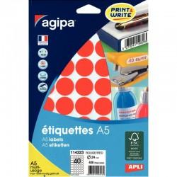 Cahier piqure 17X22 96P seyes couverture carte souple