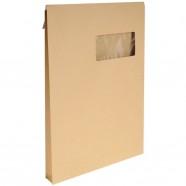 Classeur souple polypro 4 anneaux dos 40 mm translucide