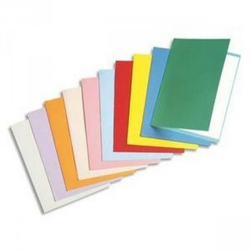 Paquet de 25 chemises 180G 24X32 couleurs assorties
