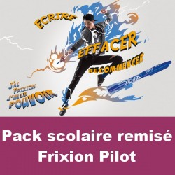 Pack scolaire remisé Pilot Frixion