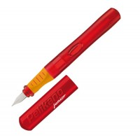 Stylo plume gaucher rouge Pelikano junior