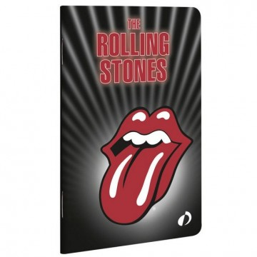 Carnet Rolling Stones 48 pages 12 x 7,5 cm ligné