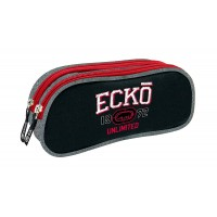 Trousse rectangulaire 2 compartiments Ecko 23 cm