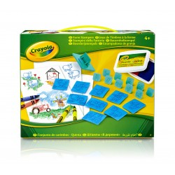 Kit créatif Jeux de Timbres Crayola