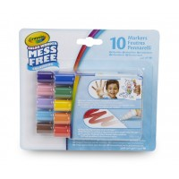 Pochette de 10 mini feutres assortis Color Wonder sans tâche Crayola
