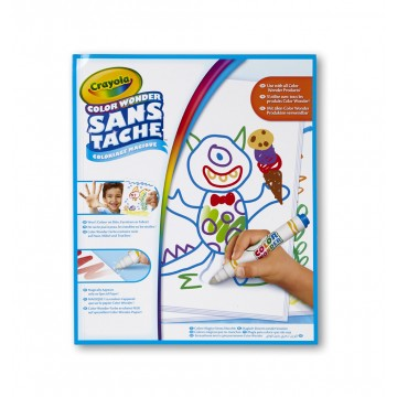 Recharge de 30 pages blanches Color Wonder sans tâche Crayola