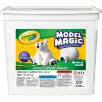 Sceau de pâte à modeler Model Magic coloris blanc Crayola